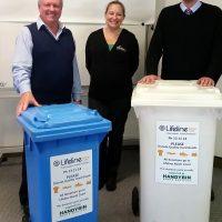 Simon Caldwell Lifeline Handybin Waste